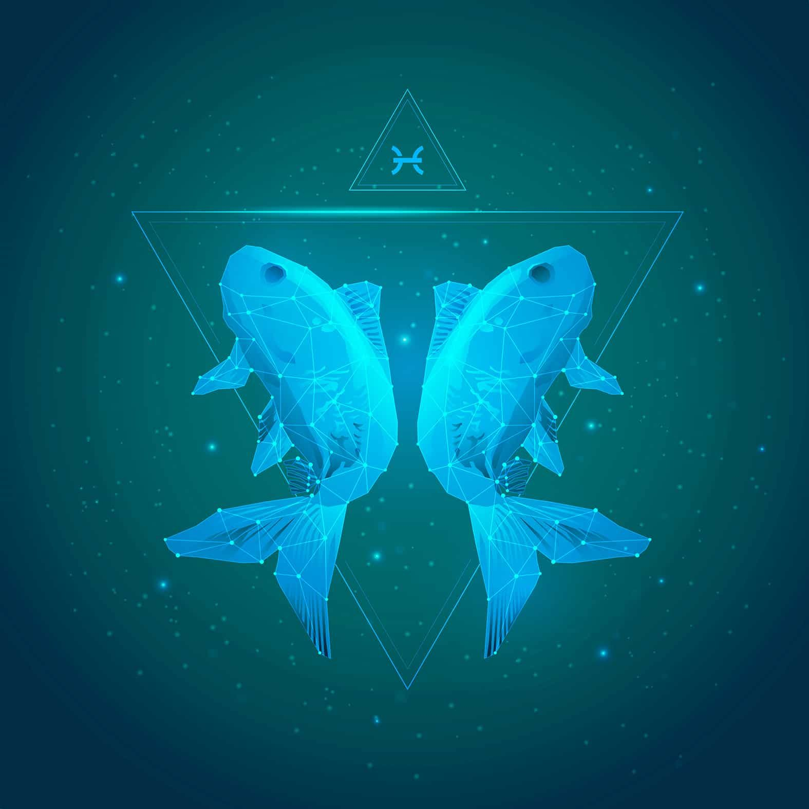 vector of aquarius horoscope sign in twelve zodiac with galaxy stars background